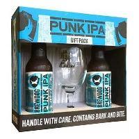 Biere Et Cidre Coffret Brewdog Biere IPA + 1 verre - 2 x 33 cl