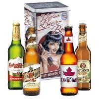 Biere Et Cidre Coffret de 4 bieres Black hair-Bieres du monde - 33 cl - Generique