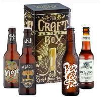 Biere Et Cidre Coffret de 4 bieres Craft mixte - 33 cl - Generique
