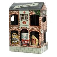 Biere Et Cidre ESTAMINET Coffret de 6 bieres - 6 x 33 cl