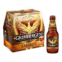 Biere Et Cidre Grimbergen - Biere ambree - 6.5 Vol. - 6 x 25 cl