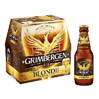 Biere Et Cidre Grimbergen - Biere blonde - 6.5 Vol. - 6 x 25 cl