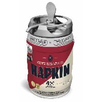 Biere Et Cidre HAPKIN Biere Blonde compatible Beertender - Fût 5 L