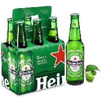 Biere Et Cidre HEINEKEN Biere blonde 5 % - 6x33 cl