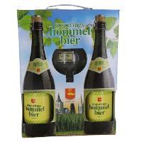 Biere Et Cidre HOMMEL BIER Coffret de 2 bieres + 1 verre - 2 x 75 cl