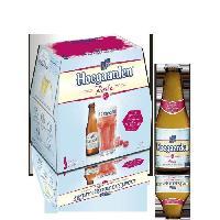 Biere Et Cidre Hoegaarden Rosé - Biere blanche - Pack de 6 x 25 cl