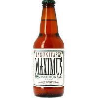 Biere Et Cidre Lagunitas Maximus - Biere ambrée - 35.5 cl