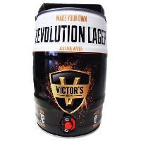 Biere Et Cidre Victor's Drinks Barrel - Kit de brassage - Revolution Lager - Fut - 4.5 L