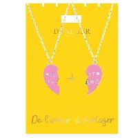 Bijoux -  Lunettes - Montres 2 Colliers Soeur