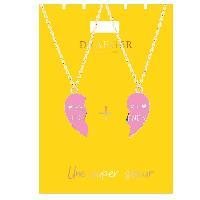 Bijoux -  Lunettes - Montres 2 Colliers Super Soeur