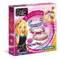Bijoux Deguisement CLEMENTONI Crazy Chic - Bracelets Rock Style - Création bijoux