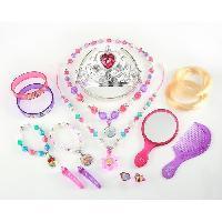 Bijoux Deguisement DISNEY PRINCESSES Parure de Bijoux - 15 Pieces - Generique