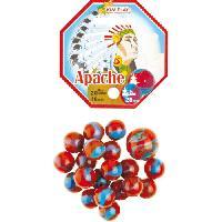 Bille - Boulet - Calot - Boulard - Caille KIM'PLAY 20+1 Billes Apache
