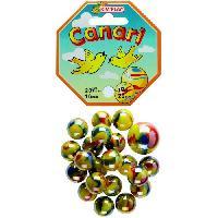 Bille - Boulet - Calot - Boulard - Caille KIM'PLAY 20+1 Billes Canari - Kim Play