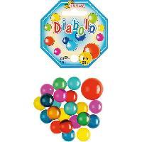 Bille - Boulet - Calot - Boulard - Caille KIM'PLAY 20+1 Billes Daibolo - Kim Play