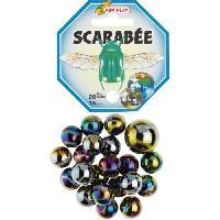 Bille - Boulet - Calot - Boulard - Caille KIM'PLAY 20+1 Billes Scarabee - Kim Play