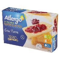 Biscotte - Assimile ALLERGO Crac'Form sans gluten. spécialité céréaliere diététique - 250 g - Generique