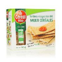 Biscotte - Assimile CEREAL BIO Tartines croquantes multicéréales : riz. sarrasin et quinoa Bio - 145 g