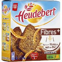 Biscotte - Assimile Heudebert Biscotte Fibre + 280g