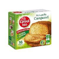 Biscotte - Assimile Pain grille Campanel Bio - 275 g