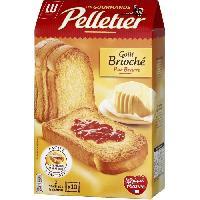 Biscotte - Assimile Pelletier Biscotte La Gourmande Goût Brioche 260g
