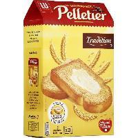 Biscotte - Assimile Pelletier Biscotte La Gourmande Tradition 285g