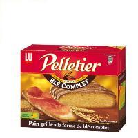 Biscotte - Assimile Pelletier Pain Grillé Blé Complet 24T 500g