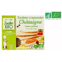 Biscotte - Assimile Tartines croquantes chataigne sans gluten bio - 150g
