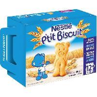 Biscuit Bebe NESTLE P'tit Biscuit des 12 mois 180g
