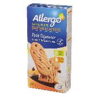 Biscuits - Patisserie Emballee ALLERGO Biscuit petit dejeuner bio - 200g
