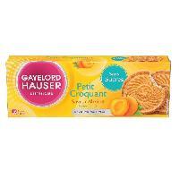 Biscuits - Patisserie Emballee Biscuit Croquant abricot Sans gluten 120g