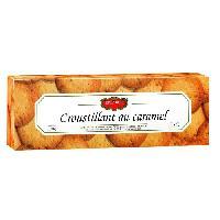 Biscuits - Patisserie Emballee Biscuit Sucre Croustillant au Caramel - 120 g