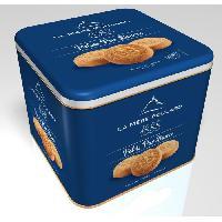 Biscuits - Patisserie Emballee Biscuiterie la Mere Poulard Coffret Fer Palets 500g La Droguerie D'amelie