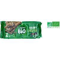 Biscuits - Patisserie Emballee Biscuits aux raisins. graines de courge et sesame bio - 218 g