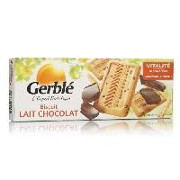 Biscuits - Patisserie Emballee Biscuits lait chocolat 230 g Gerblé Gerble