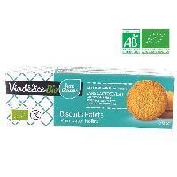 Biscuits - Patisserie Emballee Biscuits palets nature Bio - 155g
