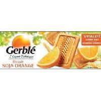 Biscuits - Patisserie Emballee Biscuits soja orange 280 g Gerblé Gerble