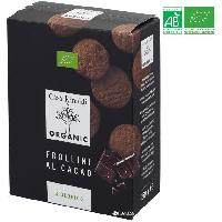 Biscuits - Patisserie Emballee CASA RINALDI Biscuits sables au chocolat bio - 150 g - Generique