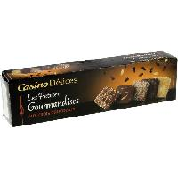 Biscuits - Patisserie Emballee CASINO DELICES Assortiment de biscuits 3 chocolats - 125g