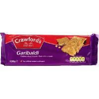 Biscuits - Patisserie Emballee CRAWFORD'S Biscuits Garibaldi - 100 g