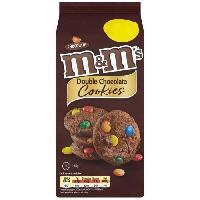 Biscuits - Patisserie Emballee Cookies M&M's 180g Mars