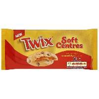 Biscuits - Patisserie Emballee Cookies Twix 180g Mars