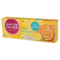 Biscuits - Patisserie Emballee Croquant citron Sans gluten 120g