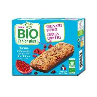 Biscuits - Patisserie Emballee DUKAN Barres Bio gogi grenade et chocolat au lait - 120 g