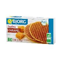 Biscuits - Patisserie Emballee Gaufres au Caramel Bio 175g