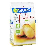 Biscuits - Patisserie Emballee La Madeleine Bio 225g