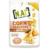 Biscuits - Patisserie Emballee N.A! NATURE ADDICTS Crackers soufflés a base de mais et quinoa bio - Sans gluten - 50 g N.k.v E-juices