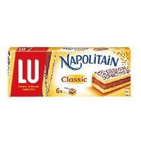 Biscuits - Patisserie Emballee Napolitain original 180 g Napolitain