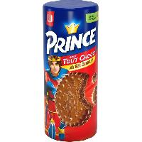 Biscuits - Patisserie Emballee Prince Tout Chocolat 300g - Aucune