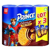 Biscuits - Patisserie Emballee Prince biscuits chocolat 3x300g - Aucune